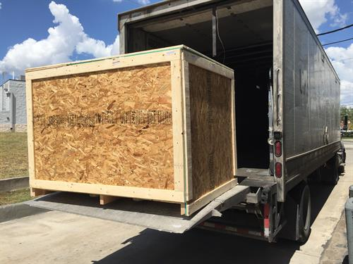 Large Crating and Freighting