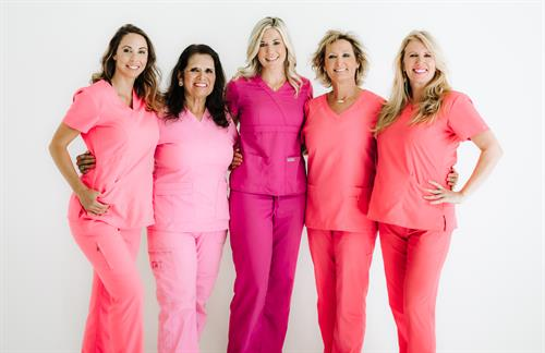 Our team is tickled pink and ready to provide you with the best dental and esthetic services in San Antonio.