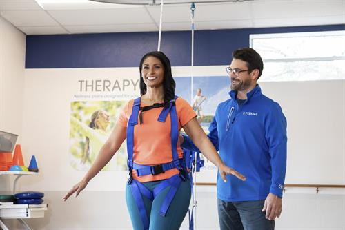 Balance therapy and physical conditioning