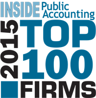 PS&Co. ranks 99 on the 2015 INSIDE Public Accounting Top 100 Firms List