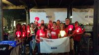 BDO USA San Antonio supports The Leukemia and Lymphoma Society's 'Light The Night' walk