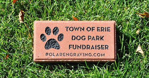 Town of Erie Dog Park brick