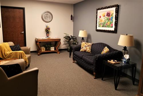 Erie Colorado Counseling - Suite #119 - Private Reception Area