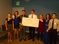 2015 Scholarship Recipients at ENCANA sponcered dinner $22,000
