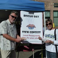 Stew Contest at Annual Erie Biscuit Day