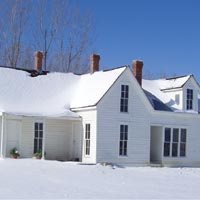 Wise Homestead Museum - Snow
