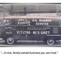 A picture of our 2nd generation owner, John A. Kinkaid Jr. in 1958
