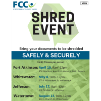 FCCU 2021 Shred Event
