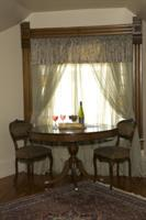 Degas room features a private sitting area ideal for a private in room breakfast.