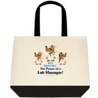 Gallery Image Never_Underestimate_the_Power_of_a_Lab_Manager_Lab_Rat_Tote_Bag.jpg