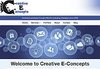 Sample client work: Creative E-Concepts