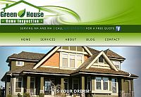 Sample client work: Green House Home Inspection