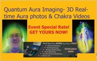 3D Real time Aura Chakra Photos and Videos only one in NE only 1 of 13 on East Coast