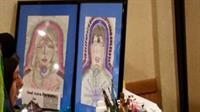 Soul Aura paintings with our Intuitive painter