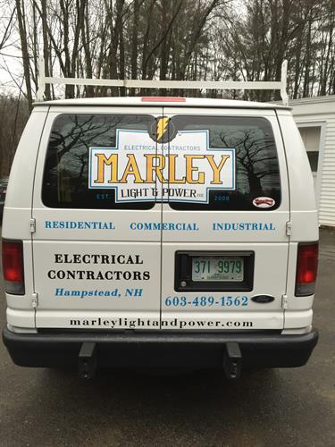 MARLEY LIGHT & POWER VAN