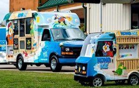 Kona-ice Entertainment Vehicle brings smiles wherever we go!