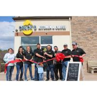 Ribbon Cutting at Crack'd Kitchen and Coffee