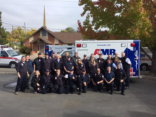 AMR Strike Team en route to California wildfires