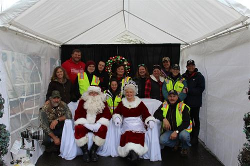 2018 GMSI Christmas donation event. Oregon City DHS