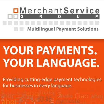 Merchant Service Group, LLC provides support in your language