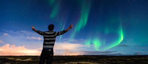 Enjoy the Northern Lights Show Vacation tours