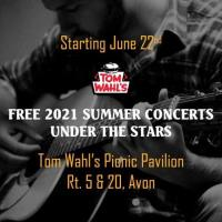 Tom Wahl's Free Summer Concerts Under the Stars