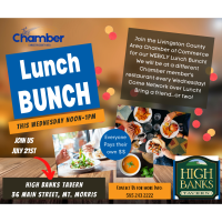 The Chamber Lunch Bunch at Genesee River Hotel
