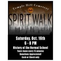 Temple Hill Cemetary Spirit Walk