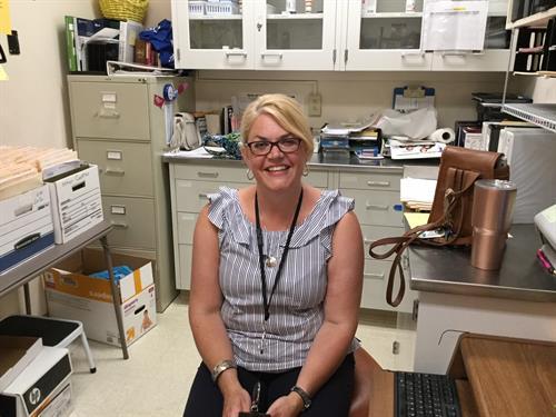 Pharmacist Kirsten