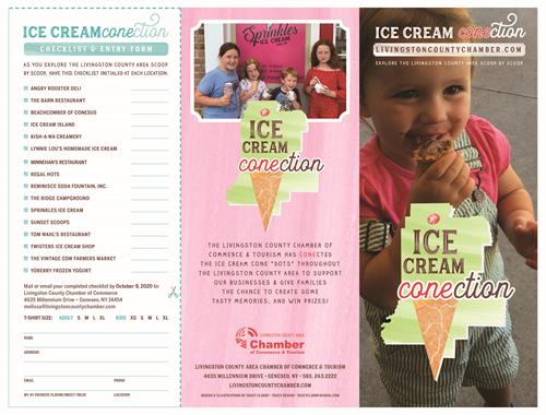 Ice Cream CONEction Brochure • Checklist • Back Cover • Cover