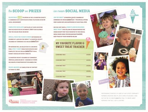 Ice Cream CONEction Brochure • Information