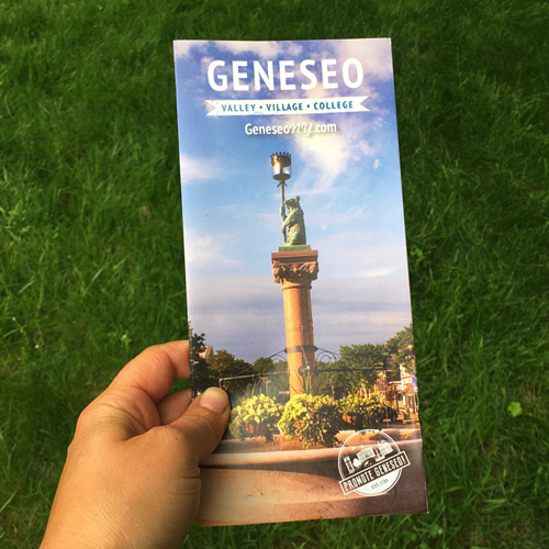 Promote Geneseo! Brochure 2020 • Cover