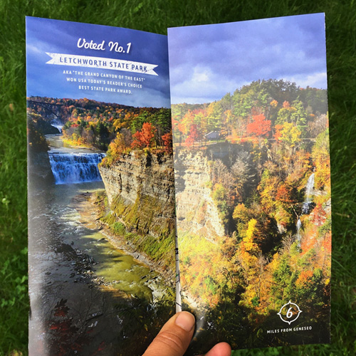 Promote Geneseo! Brochure 2020 • Letchworth Park Beauty Shot