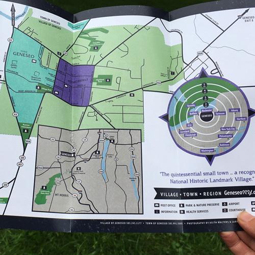 Promote Geneseo! Brochure 2020 • Map