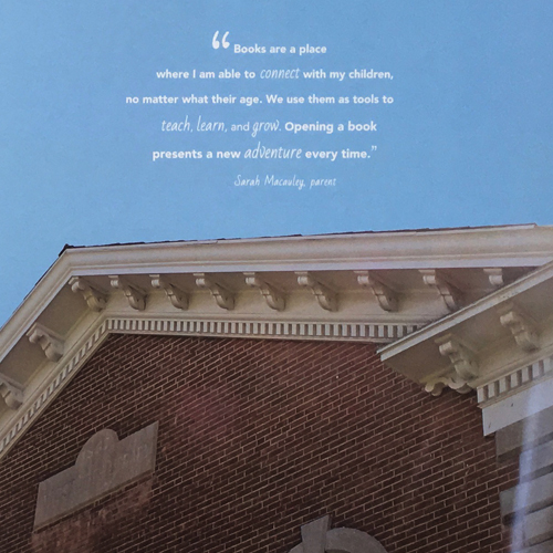 Wadsworth Library Building Up for the Future Capital Campaign • Brochure • Inside Page