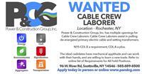 Cable Crew Laborer