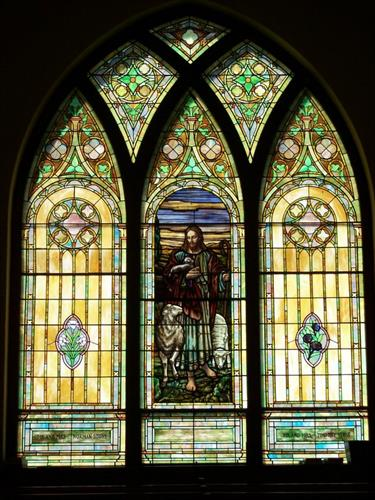 Trinity Church of Nunda Good Shepherd Window