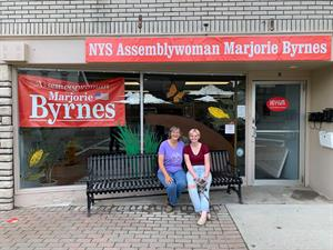 Assemblywoman Marjorie Byrnes