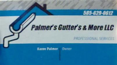 Palmer's Gutters & More LLC