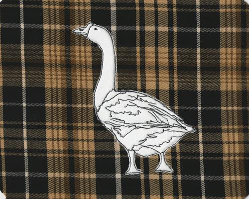 I have 7 other traditional farm animals mounted on this plaid, as well!