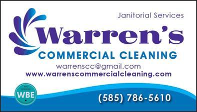 Warren's Commercial Cleaning, Inc.