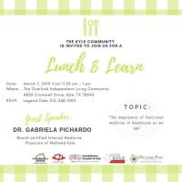 Lunch and Learn at The Overlook Independent Living Community