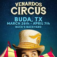 The Venardo Circus is coming to Buck's Backyard