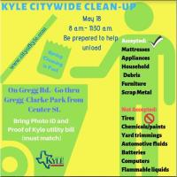 Kyle Citywide Clean-Up
