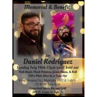 Memorial & Benefit for Daniel Rodriguez