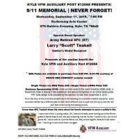 9/11 Memorial BBQ Fundraiser