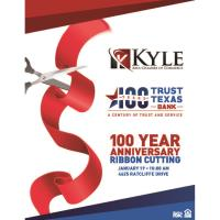 Trust Texas Bank 100 Year Ribbon Cutting