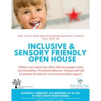 Inclusive & Sensory Friendly Open House