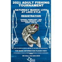 2021 Adult Fishing Tournament