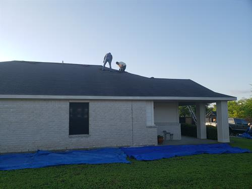 new roof!